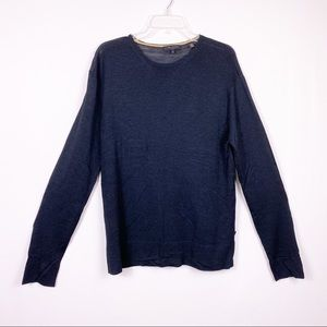 Ted Baker London black sweater size 4